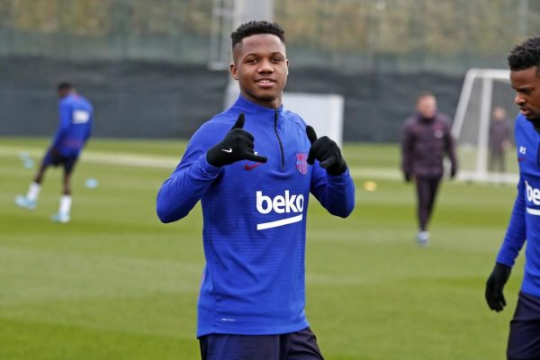 Green light doctor! Fati ready to feature in Barca's clash with Levante